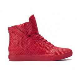 Supra Skytop Red-Red