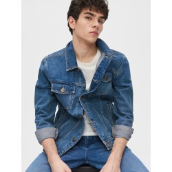 Denim jacket for men H&M