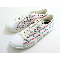 Classic Sneakers - Hearts &...