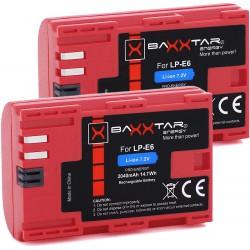 2x Baxxtar PRO-ENERGY LP-E6